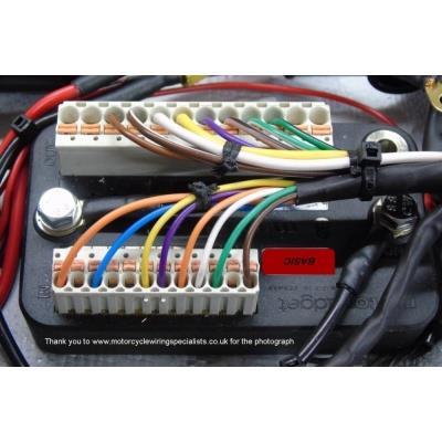 Motogadget m.Unit Basic - Digital Control Unit on